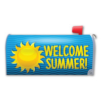 Summer Mailbox Cover Magnet
