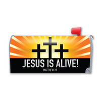 Jesus Is Alive! Mailbox Cover Magnet