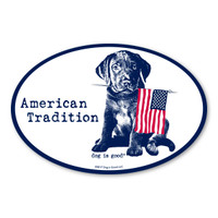 American Tradition Dog Is Good Magnet