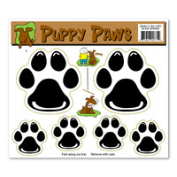 Puppy Paws Magnet Pack