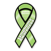 Lymphoma Awareness 2-in-1 Ribbon Magnet