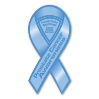 Prostate Cancer Awareness 2-in-1 Ribbon Magnet