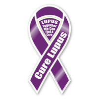 Cure Lupus 2-in-1 Ribbon Magnet