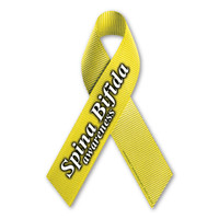 Spina Bifida Awareness Ribbon  Magnet