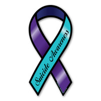 Suicide Awareness Ribbon Magnet