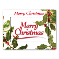 Merry Christmas Picture Frame  Indoor Magnet