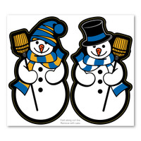 Snowmen 2-in-1 Holiday Magnet