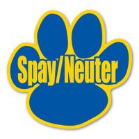 Spay/Neuter Pet Paw Magnet