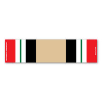 Iraq War Service Mini Ribbon Bar Magnet