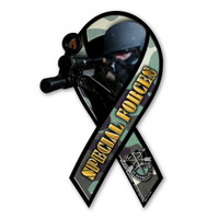 Special Forces Large Ribbon Magnet