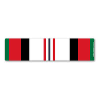 Afghanistan War Service Ribbon Bar Magnet