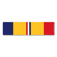 Combat Action Service Ribbon Bar  Magnet