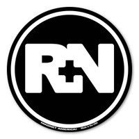 The nursing profession was brought to the forefront during the Civil War. It has grown steadily and is one of the most sought after healthcare professions. Nurses are dedicated and committed to their patients to provide optimal health and maintain their quality of life. Our RN black circle decal is perfect for registered nurses whatever field they may work in.