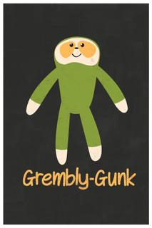 Gremblygunk! Funny Poster 12x18