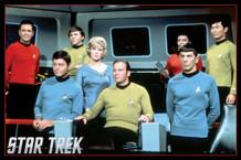 Star Trek Cast TV Show Poster 36x24