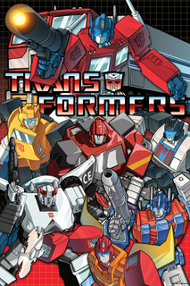 Transformers Autobots TV Show Poster 24x36