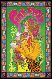 Pink Floyd Marquee 66 Bob Masse Music Poster 24x36