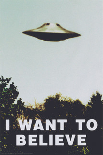 I Want To Believe TV Show Poster 24x36