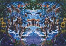 Octopus Garden by Richard Biffle Fantasy Art Poster 36x24