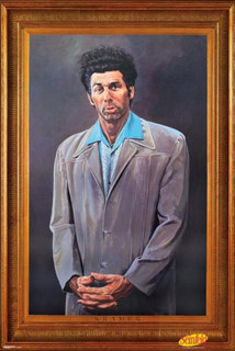The Kramer Portrait Seinfeld Faux Frame TV Poster 11x17