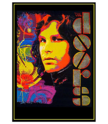 Jim Morrison The Doors Music Blacklight Poster 23x35
