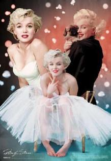Marilyn Monroe Lenticular 3-D Poster - 18.5x26.5