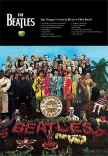 Beatles Sgt. Peppers Lenticular 3-D Poster - 11x17