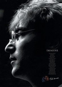 John Lennon Imagine Poster - 24x36
