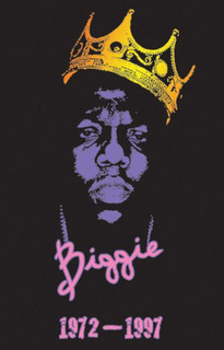Notorious BIG Chain Blacklight Music Blacklight Poster 24x36