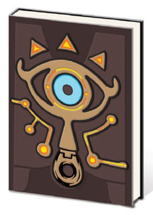 The Legend of Zelda Sheikah PVC Premium Video Gaming Journal Notebook 6x8