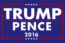 Donald Trump Mike Pence President 2016 Campaign Poster 24x36