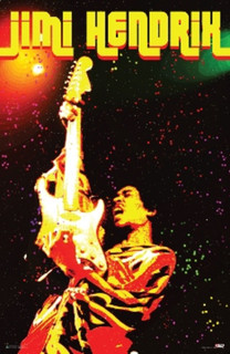 Jimi Hendrix Electric Voodoo Music Poster 24x36
