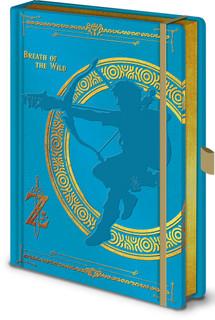 The Legend of Zelda Breath of the Wild Video Gaming Journal Notebook 6.25x8