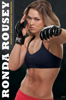 Ronda Rousey UFC Fighter Champion Poster - 24x36