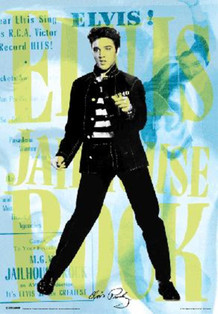 Elvis Dance Lenticular 3-D Poster - 18.5x26.5