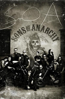 Sons of Anarchy Vintage Poster - 24x36
