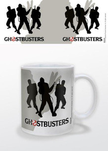 Ghostbusters Silhouettes Who Ya Gonna Call Supernatural Comedy Film Movie No Ghosts Coffee Mug