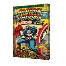 Captain America Volume 193 Stretched Canvas - 24x36