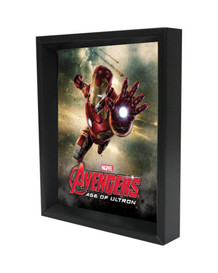 Iron Man Age of Ultron Framed Shadow Box 3D Poster 8x10