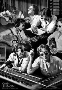 John Lennon Watching the Wheels Lenticular 3-D Poster - 11x17