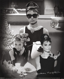 Audrey Hepburn Breakfast at Tiffanys Lenticular 3-D Poster - 8x10