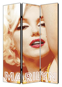 Marilyn Monroe Glamour Color Room Divider - 48x71