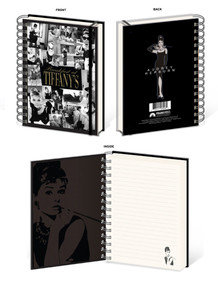 Audrey Hepburn Breakfast At Tiffanys 180 page Journal Notebook 6.25x8.25