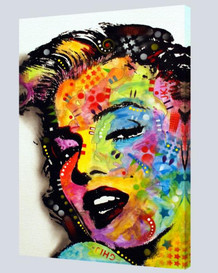 Marilyn Monroe Dean Russo Stretched Canvas 24x36