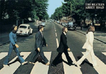 Beatles Abbey Road Lenticular 3D Poster 26.5x18.5
