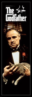 The Godfather Cat Poster - 21x62