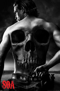 Sons of Anarchy Jax Back TV Poster 24x36