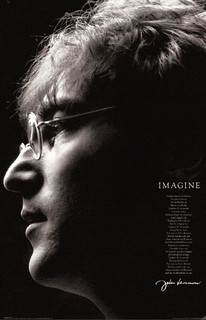 John Lennon Imagine Poster - 11x17