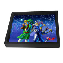 The Legend of Zelda Songs Video Gaming Framed Shadow Box 3D Poster - 10x8