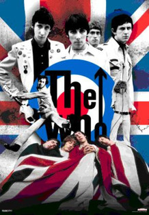 The Who Lenticular 3-D Poster - 18.5x26.5